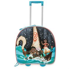 Disney Moana Light Up Trolley Bag