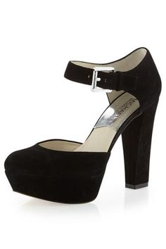 7584a1b3c5 15 comfy heels for every holiday event! Comfy Heels, Comfortable High Heels,  Suede