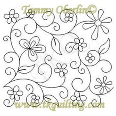 Ideas For Machine Quilting Thread Machine Quilting Patterns, Quilting Thread, Longarm Quilting, Free Motion Quilting, Hand Quilting, Quilt Patterns, Silk Ribbon Embroidery, Crewel Embroidery, Hand Embroidery Patterns