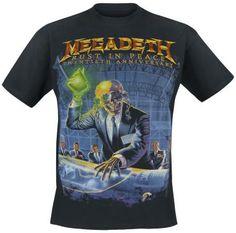"Megadeth T-Shirt ""Rust In Peace (Anniversary)"" nero • EMP"