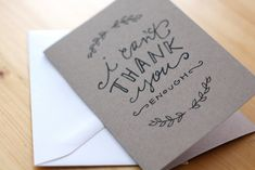 cute thank you cards diy - Google Search