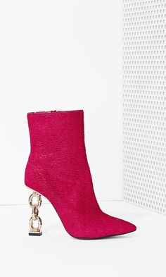 Jeffrey Campbell Lynked Waved Pony Hair Boot