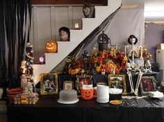 Halloween Decorations 2014-- Under the Stairs