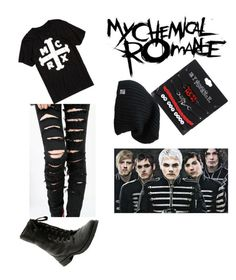 """""""My chemical romance"""" by ogreyer on Polyvore featuring Hot Topic"""
