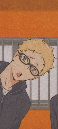 oi oi oiii tsukki >:D Haikyuu Tsukishima, Haikyuu Manga, Haikyuu Fanart, Manga Anime, Kuroo Tetsurou, Wallpaper Animes, Haikyuu Wallpaper, Cute Anime Wallpaper, Animes Wallpapers