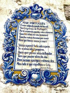 """Portuguese Sea"" - Poem by Fernando Pessoa"