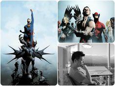 Jae Lee art, do quadrinista de Batman/Superman virá ao Brasil!