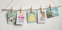 Postkartenhalter mit easypeasy Tutorial zum Nachmachen
