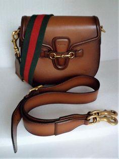 0fd2bde184 Lady Web Brown Leather Shoulder Bag
