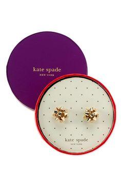kate spade -  'bourgeois bow' stud earrings