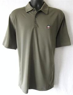 NIKE....Be the best dressed out on the links with this NIKE men's golf shirt! Love the quality embroidered golf ball with the mustache! Only 1 available, so grab it before it's gone! As always, we offer FREE SHIPPING  to U.S. customers! Please visit http://stores.shop.ebay.com/J-and-S-Menswear for more great deals on men's fashions!