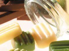 Óleo hidratante em barra