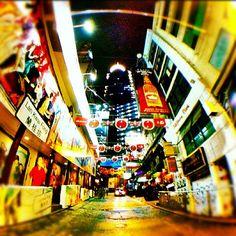 Lan Kwai Fong, Central. 5 APR 2012. Photo Taken by #turtlejacket #hongkong - @zirosou- #webstagram