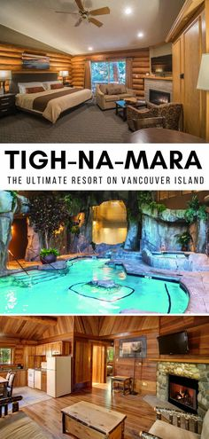 There's a lot of resorts to choose from on Canada's Vancouver Island, but if you're in Parksville, you'll want to investigate Tigh-Na-Mara. Set directly on the Salish Sea, within a coastal forest, it caters to couples, families and wellness lovers, with its full service spa (including grotto pools!) #ParksvilleBC #ParksvilleThingsToDo #TighNaMara #britishcolumbiacanada #britishcolumbiatravel #britishcolumbiawinter #Canada #TravelCanada #VancouverIsland #VancouverIslandThingsToDo Grotto Pool, Stuff To Do, Things To Do, Atlantic Canada, Visit Canada, The Great White, Great Hotel, Vancouver Island, Canada Travel