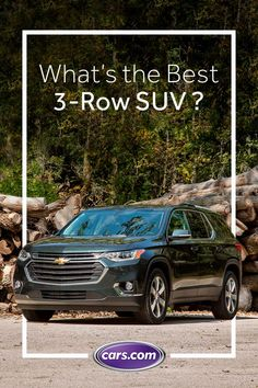With as many as eight seats, three-row SUVs are the vehicles of choice for families that prefer the styling and optional all-wheel drive of an SUV over a minivan. Tap the Pin and see which one sits at the top of our list.