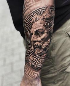 Bull Tattoos, Forarm Tattoos, Forearm Sleeve Tattoos, Best Sleeve Tattoos, Tattoo Sleeve Designs, Tattoo Designs Men, Leg Tattoos, Body Art Tattoos, Realistic Tattoo Sleeve