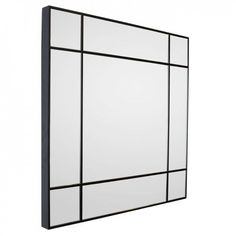 Linear Wenge Stain Mirror