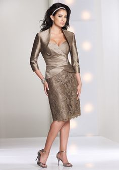 Social Occasions by Mon Cheri 113843 Mother Of The Bride Dress - The Knot
