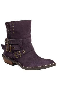 {Trestrap Boot In Violet} Kickers