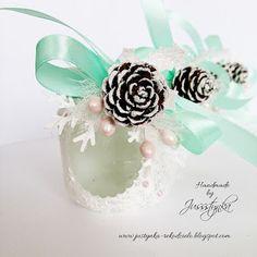 Handmade by Jussstynka: Magiczny blask III Pearl Earrings, Pearls, Handmade, Jewelry, Pearl Studs, Hand Made, Jewlery, Bijoux, Bead Earrings