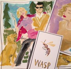 "Artist Spotlight Series: Donald ""Drawbertson"" Robertson / The English Room Blog"