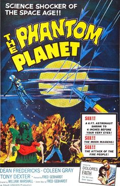 El planeta fantasma. William Marshall (1961)
