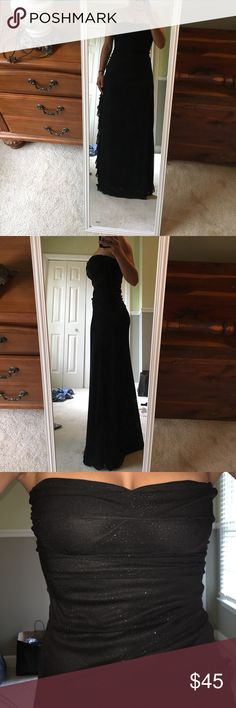 JodiKristopher Dress medium In perfect condition. Strapless dress. Sparkly make. Body con dress. Great for prom, or any formal occasion or date night. Jodi Kristopher Dresses Prom