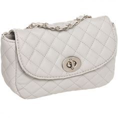 Quilted Crossbody W/ Metal Chain Strap
