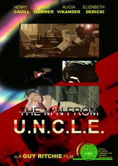 "Alternative poster for WB's ""The Man From U.N.C.L.E."""