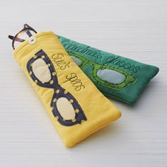 personalised glasses case by rosiebull designs | notonthehighstreet.com