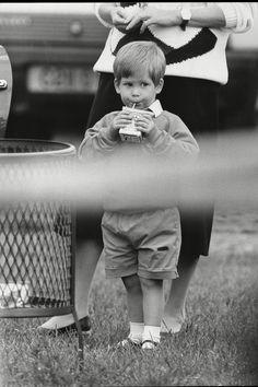 Vilmos és Harry herceg írtó cuki gyerekkori fotói