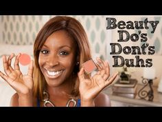 """""""Tips for Women of Color"""" with - Beauty Do's, Don'ts, & Duhs // I love makeup. Makeup Tricks, Love Makeup, Beauty Makeup, Fresh Makeup, Simple Makeup, Beauty Blender How To Use, Giveaway, Beauty Tips For Women, Beauty Background"""