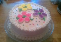 You have to see Flower Power Cake