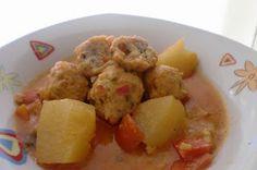 MAYTE EN LA COCINA: 379º receta: ALBONDIGAS DE ATUN FRESCO EN SALSA