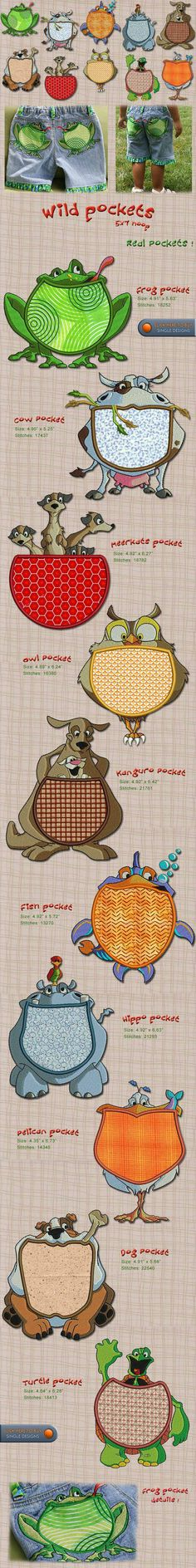 Animals Embroidery Designs Free Embroidery Design Patterns Applique