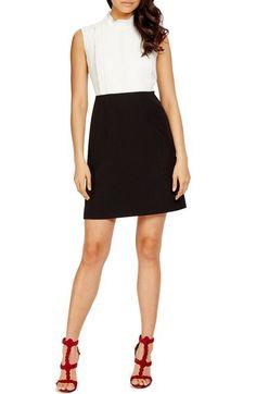 Donna Morgan Crepe Shift Dress available at #Nordstrom