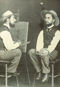 Henri de Toulouse-Lautrec montage by Maurice Guibert