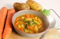 """""""Arme Leute Essen"""" oder auch Kartoffel-Gulasch genannt   KochTrotz - Food - und Reise Blog mit Rezepten für Gluten-Unverträglichkeit, Fructose-Intoleranz, Laktose-Intoleranz, Histamin-Intoleranz, Zöliakie, Sorbit-Intoleranz, vegan, vegetarisch, Fisch, Fleisch"""