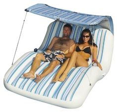 This comfortable pool mattress float features a clear top for even tanning and hours of relaxing in the sun. Family owned and operated, Swimline Corp. has grown to be the largest manufacturer of above-ground swimming pool liners in the world. Inflatable Pool Loungers, Inflatable Raft, Beach Inflatables, Lake Floats, Pool Rafts, Lake Rafts, Pool Accessories, Pool Toys, Backstreet Boys