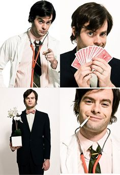 Bill Hader makes me laugh and I love him, he just doesn't know it yet...neither does his wife. Lol!