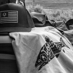 A few trucker hats are back in stock!  Also check out our t-shirts like the DryFly tee featured here in the photo. Visit wolfgangusa.com #productoftheday #wolfgangusa #manandbeast #mensgear #campinglife #flyfishing #troutbum #troutjunkie