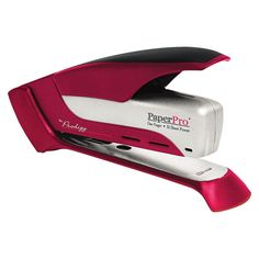 PaperPro Prodigy 25 Sheet Capacity Spring Powered Stapler - Red/Silver