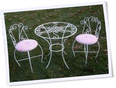Custom Kids Table and Chairs Set Handcrafted Childrens Tea Party Furniture Child  sc 1 st  Pinterest & love ice cream parlor themes! | The Secret Garden | Pinterest ...