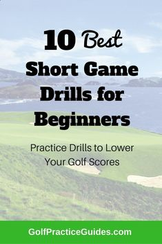 Short game drills, golf practice drills for beginners, golf swing tips, chipping drills, putting drills, tiger woods, rory mcilroy, jordan spieth, golf courses, golf gift ideas, practice plan #AwesomeGolfTips