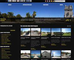 Portal de Visitas Virtuais, dedicado à publicação e promoção de locais com interesse turistico e de lazer em Portugal.