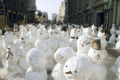 When the poles melt, the Snowmen shall walk the earth.