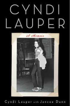 Cyndi Lauper's Autobiography Out on September 18
