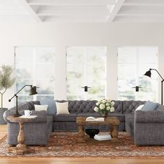Tufted Sectional, Large Sectional, Corner Sectional, Chesterfield Sofa, Cushions For Sale, Seat Cushions, Formal Living Rooms, Outdoor Furniture Sets, Furniture Ideas