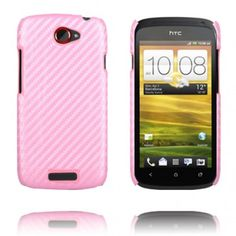 Carbon (Lys Pink) HTC One S Cover