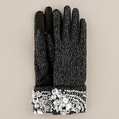 Jeweled Cuff gloves